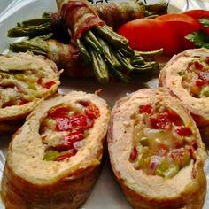Érdekel a receptje? Kattints a képre! Meat Recipes, Baked Potato, Bacon, Food And Drink, Potatoes, Paleo, Cooking, Ethnic Recipes, Xmas