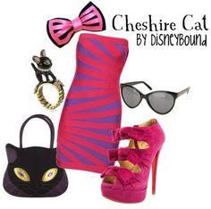 Disney Fashion Cheshire Cat inspired