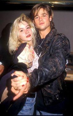 Brad Pitt and Christina Applegate