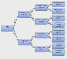 Lessons Learned from Creating an Age at Death Pedigree Chart ~ Family History Fanatics Ancestry Websites, My Ancestry, Create A Family Tree, Family Trees, Genealogy Research, Family Genealogy, Pedigree Chart, Lessons Learned, Family History