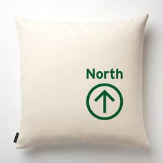 North Pillow in Off White with fill by NicoleTarasick on Etsy