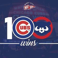 @windy.city.nation #chicago #wrigleyfield #chicagocubs #mlb #baseball #cubs #100wins