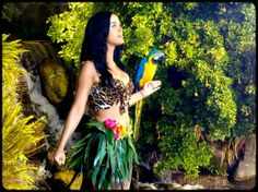 Roar Katy Perry de Vídeo com papagaio