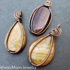 I've been thinking about doing a destash sale of cabs, beads, and some minerals that I've been holding onto so I can make room for new goodies when I am creating again! The sale would be over at my Instagram @WireMoonJewelry What do you think? Would you be interested in a destash sale? These three have been sold. Thanks for looking! Shop: www.wiremoonjewelry.etsy.com Wire Jewelry Making, Jewelry Box, Wire Jewellery, Jewellery Making, Moon Jewelry, Wire Wrapped Pendant, Ring Designs, Wire Wrapping, Gemstone Rings