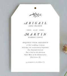 20 Minimal Wedding Invitations - Storybook Romance Invite from Minted - Card Box Wedding, Wedding Thank You Cards, Wedding Paper, Appreciation Message, Wedding Chair Signs, Plan Your Wedding, Wedding Ideas, Fancy Fonts, Candy Gifts