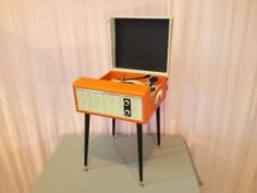 Vintage Fidelity MP12 record player with Dansette legs on eBay