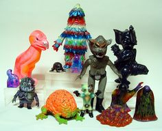 via connell on flickr #toys #collectibles #kaiju #art #vinyl