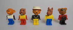 LEGO-Fabuland-5x-Figuren-Konvolut-fuer-die-Stadt-City-Minifigur-1