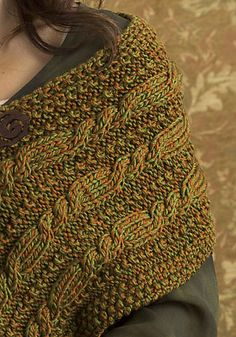 Free Pattern: Perth Wrap by Cari Clement