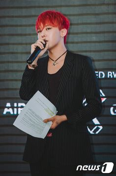 BIGBANG(ビッグバン)G-DRAGON(クォン・ジヨン) 2015.06.08 PEACEMINUSONE PRESS CONFERENCE PHOTO