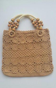 Women bag, Crochet bag, Handbag, Cotton handbag, Handmade bag, Crochet lady bag, Girl bag, Handbag w