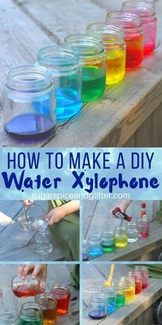 A fun kitchen science experiment that combines art, music, math and science - plus free printable Scientific Method for kids to use to practice their science skills while playing Kindergarten Science Experiments, Science Fair Projects, Preschool Science, Science Classroom, Preschool Ideas, Music Activities, Fun Activities For Kids, Science Activities, Science Crafts