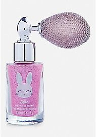 Just Shine Bunny Shimmer Spray Justice Makeup, Spa Pedicure Chairs, Justice Accessories, Unicorn Fashion, Heart Engagement Rings, Blue Perfume, Unicorn Rooms, Denim Backpack, Baby Doll Accessories