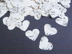 note vintage coriandoli cuori musica spartiti nozze matrimonio napoletano…