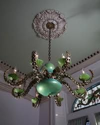 Octopus Chandelier...lol, I'm actually loving this, would be a great quirky touch in a victorian house