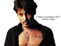 Johnny Depp Picture #Quotes Learn some Wisdom from Johnny Depp!