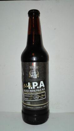Pivo PERMON Black I.P.A. Czech beer.