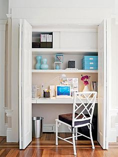Balanced Lines for Your Closet Transformation - Maximize Small Spaces: 8 Revamps for Your Closet on HGTV