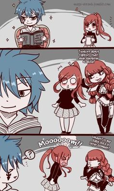 Jellal, Erza & Mom [Fairy Tail] She didn't even get a chance to say hi. Fairy Tail Gray, Fairy Tail Meme, Natsu Fairy Tail, Fairy Tail Ships, Fairy Tail Mystogan, Rog Fairy Tail, Fairy Tail Cobra, Anime Fairy Tail, Fairy Tail Comics
