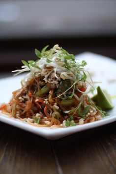 Pure Food and Wine's Pad Thai with Kelp Noodles
