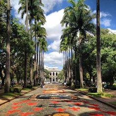 É considerada o coração de Belo Horizonte. Ótima para um passeio bucólico à tarde ou mesmo para caminhar, a praça, por si só, já é linda. Ao seu redor, ficam importantes prédios de Belo Horizonte, como o Memorial Minas Gerais, o Palácio da Liberdade, o Museu das Minas e do Metal e o Edifício Niemeyer.