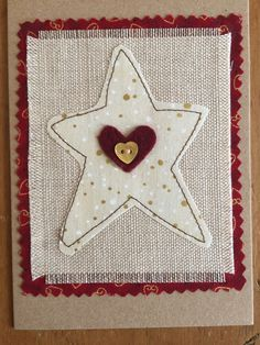 A personal favourite from my Etsy shop https://www.etsy.com/uk/listing/561318812/christmas-card-fabric-applique-card