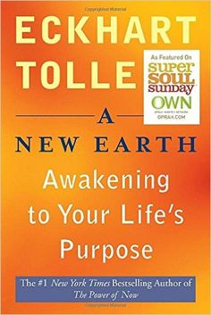 """A New Earth: Awakening to Your Life's Purpose (Oprah's Book Club, Selection 61) by Eckhart Tolle (Author) The tenth commemoration release of A New Earth with another prelude by Eckhart Tolle. With his top of the line profound guide The Power of Now, Eckhart Tolle enlivened a great many perusers to find the opportunity and delight of an existence lived """"in the now."""" In A New Earth, Tolle develops these capable thoughts to show how rising above our inner self based condition of cognizance is…"""