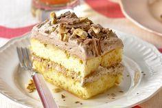 Υπέροχο και πανεύκολο γλυκό ψυγείου με 5 μόνο υλικά. Μια συνταγή για ένα ανάλαφρο γλυκό ψυγείου. Συνδιάστε τη σοκολάτα με το φουντούκι και αφήστε τις γεύσε