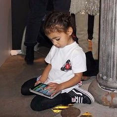 Pinterest: @1Jocelynn North West Kardashian, Kardashian Family, Kardashian Jenner, Future Daughter, Future Baby, Little Kid Fashion, Kids Fashion, Cute Outfits For Kids, Cute Kids
