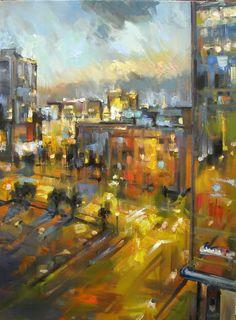 Rick Reinert - Dusk Downtown Atlanta