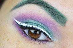 Sailor Pluto inspired makeup by http://www.sweetcherry.de/2016/02/blogparade-sailor-pluto.html