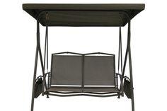 Garden Treasures 2-Seat Swing Canopy