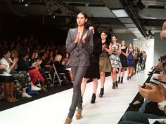 N.Z. Fashion Week Andrea Moore Show, Bianca Fallon|Media Makeup|Fashion & Beauty Writer  www.mediamakeup1.com
