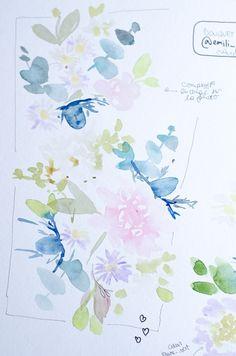Planches de recherche à l'aquarelle: comment j'ai boosté ma créativité - Cliquez pour découvrir l'article ou enregistrez l'image pour plus tard!