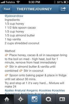Coconut chocolate bites