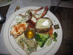 The seafood combo at Puerta Vieja restaurant. Lobster tail, fish AND shrimp. For under $25!! Can't beat that.