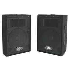 Peavey Speaker System Speakers) Includes 2 premium speakers sound reinforcement enclosure Carpet covered with metal grille Horn-loaded high frequency driver Side-position monitor Boat Cover Support, Carpet Cover, Pa Speakers, Sam Sam, Professional Audio, Boat Covers, You Sound, Speaker System, 2 Way