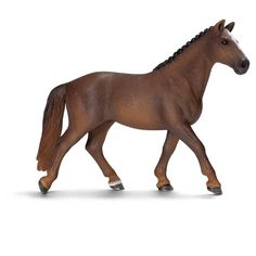 Amazon.com: Schleich Hanoverian Mare Toy Figure: Toys & Games