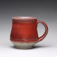 pottery mug ceramic coffee mug handmade teacup by rmoralespottery
