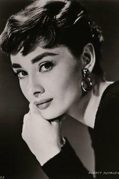 Audrey Hepburn in the late 1950s.