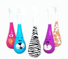Brush'n'play®- brosse à dents ludiques pour enfant de 2-10 ans