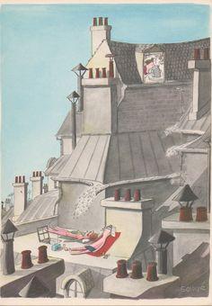 Comment on s'enrhume à Paris, 1961 -     Sempé