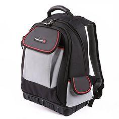IRONLAND 0304 Tool Backpack Bag, 57-Pocket