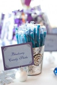 Candy Candy Buffet, Blueberry, Turquoise Weddings, Dream Wedding, Place Card Holders, Purple, Create, Berry, Blueberries