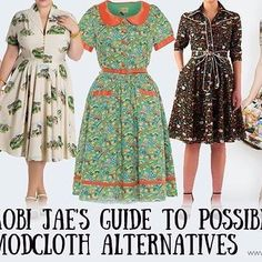 ~ BLOG POST ~ In the wake of the recent news that @modcloth has been sold to Walmart, I tried my darndest to scour the earth/webz for possible alternative sources of quirky, cute, twee and vintage plus size fashion. (Clickable link in bio ) . Although not exhaustive, I hope this list of FIFTEEN helps some people! And I'll probably add to it - so sing out with any other hot tips! ✨✨