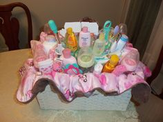 Baby Girl Basket (back view)