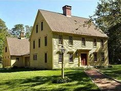 Colonial Saltbox House Plans | Saltbox House Interiors Classic Colonial Saltbox House, classic ...
