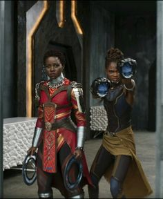 Nakia and Shuri, Black Panther (2018)