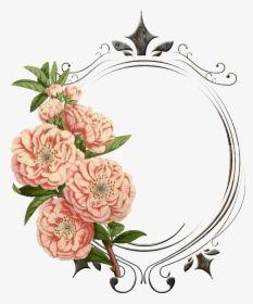 Transparent Vintage Frames Png Vintage Flower Border Png Png Download In 2020 Vintage Floral Backgrounds Vintage Flowers Flower Border Png