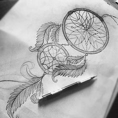 "Maybe a smaller version with ""Catch me in my dreams"" Tattooed on calf"